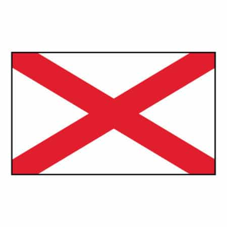 Alabama State Flag - United States