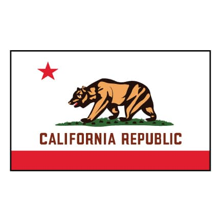 California Republic State Flag - United States