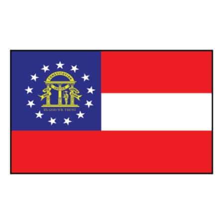 Georgia State Flag - United States