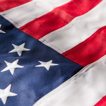United States Poly Flag - US American Country Flag