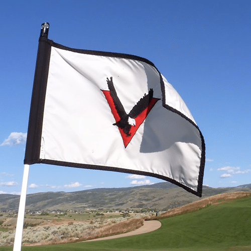 Custom Golf Hole Flags