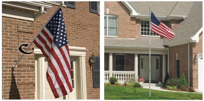 Home Flagpoles