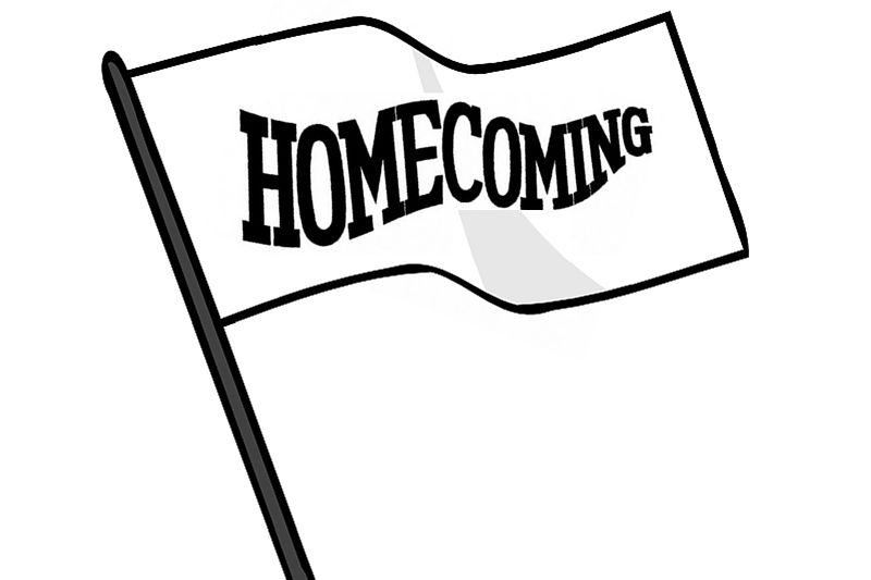 Homecoming Flag