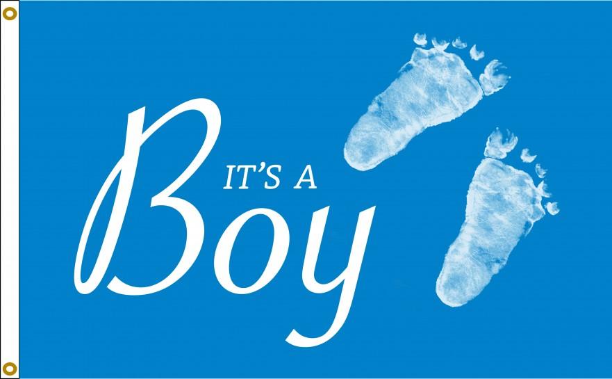It's A Boy Flag For Sale | Buy It's A Boy Flag Online