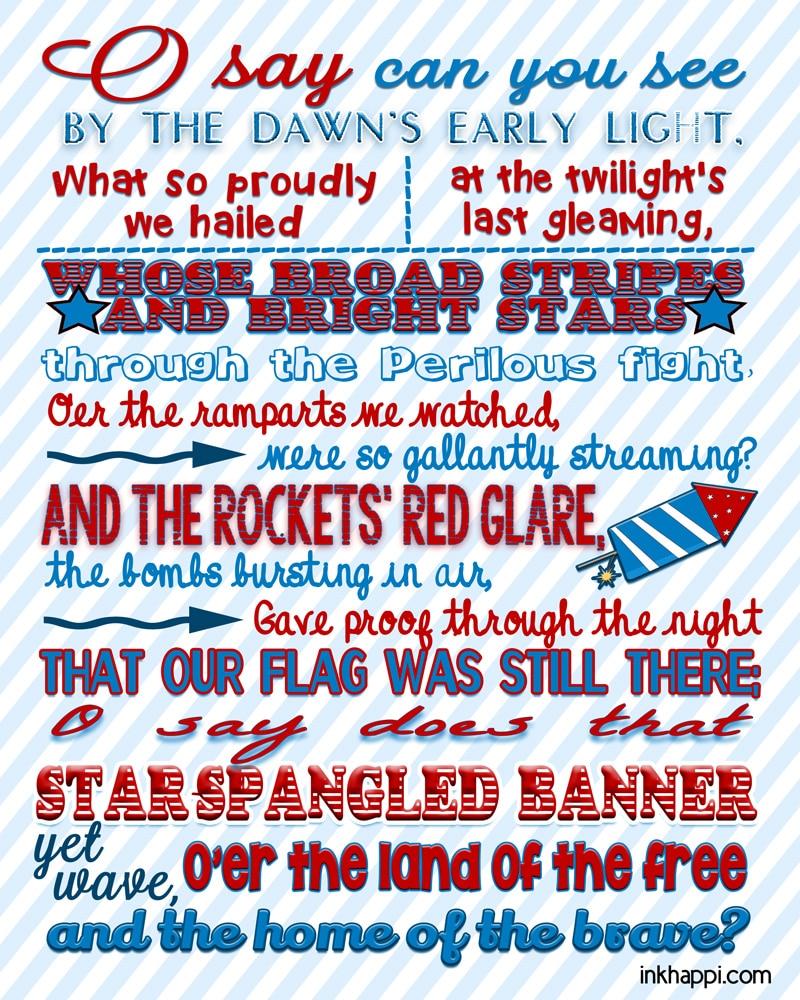 National Anthem Etiquette