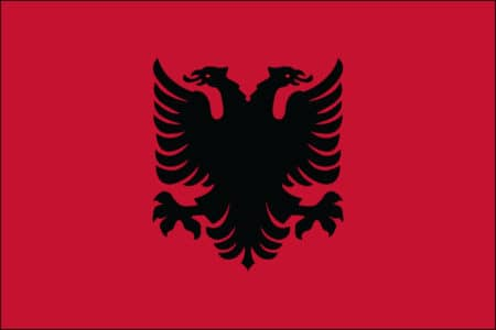 Albania Flag - Albanian International Country Flag