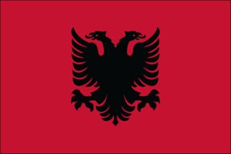 Albania Flag - Albanian International Country Flag