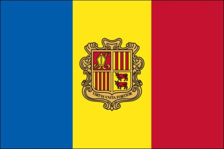 Andorra Flag - Andorran International Country Flag