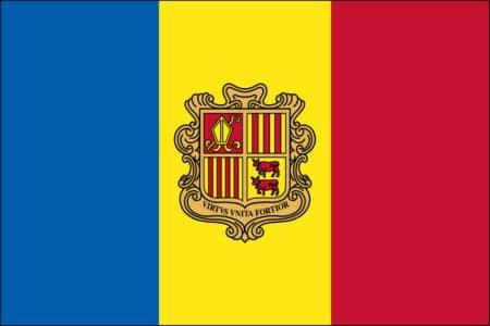 Andorra Flag - Andorran International Country Flag