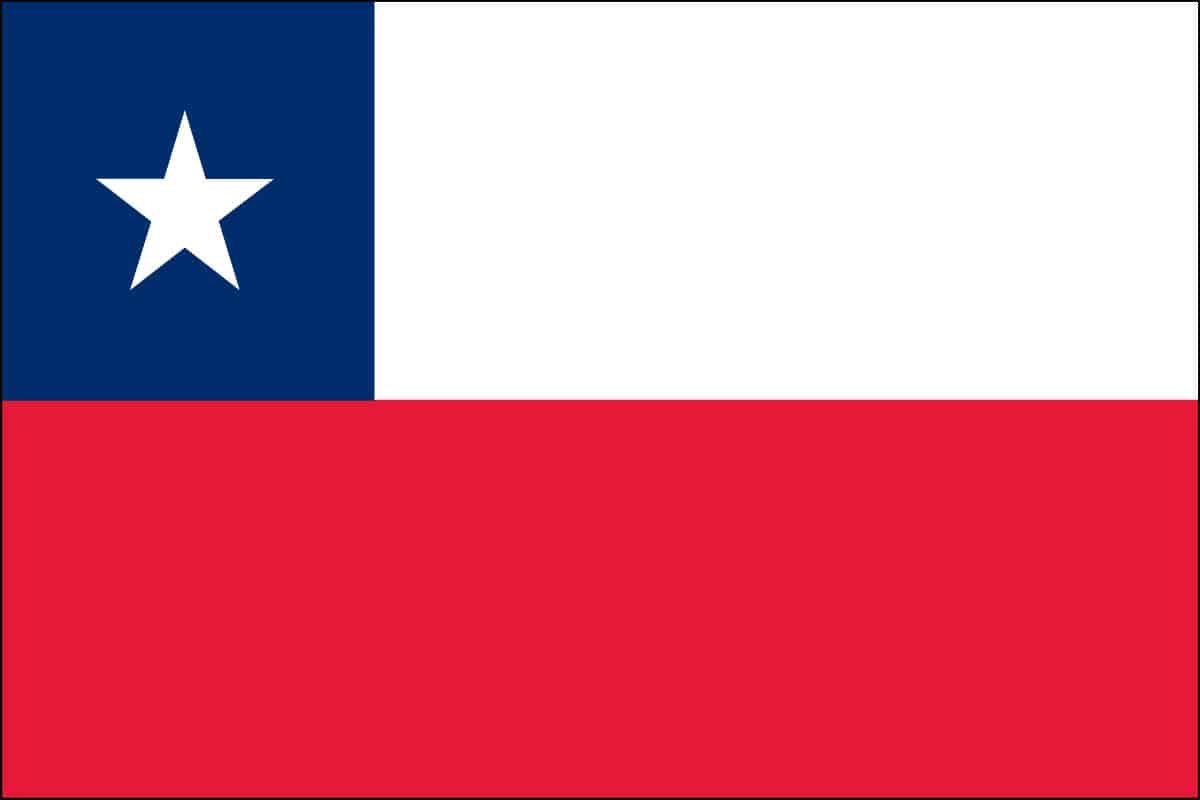 Chile Flag For Sale | Buy Chile Flag Online