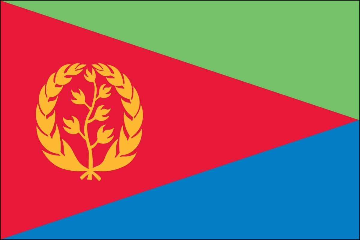Eritrea Flag For Sale Buy Eritrea Flag Online