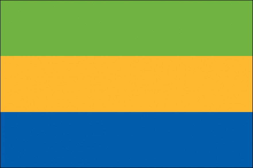 Gabon Flag For Sale