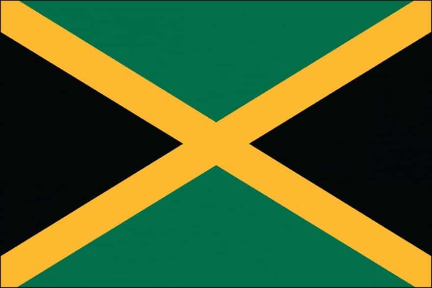 jamaican flag pole - photo #23