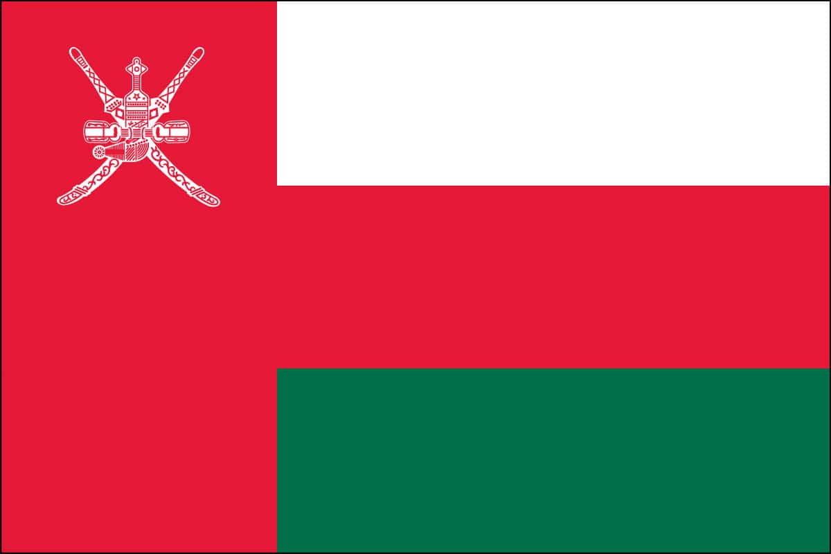 Retractable Table Top Banner Oman Flag For Sale | Buy Oman Flag Online