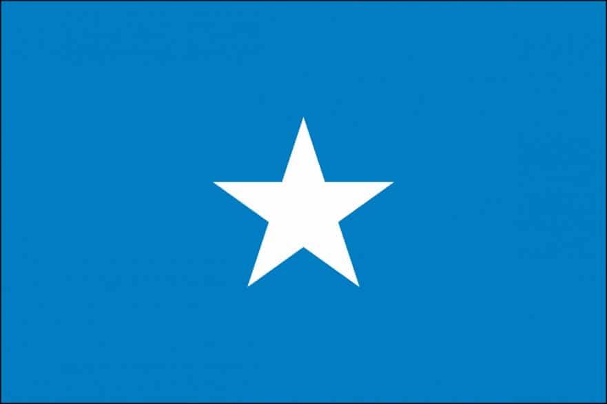 Retractable Table Top Banner Somalia Flag For Sale | Buy Somalia Flag Online