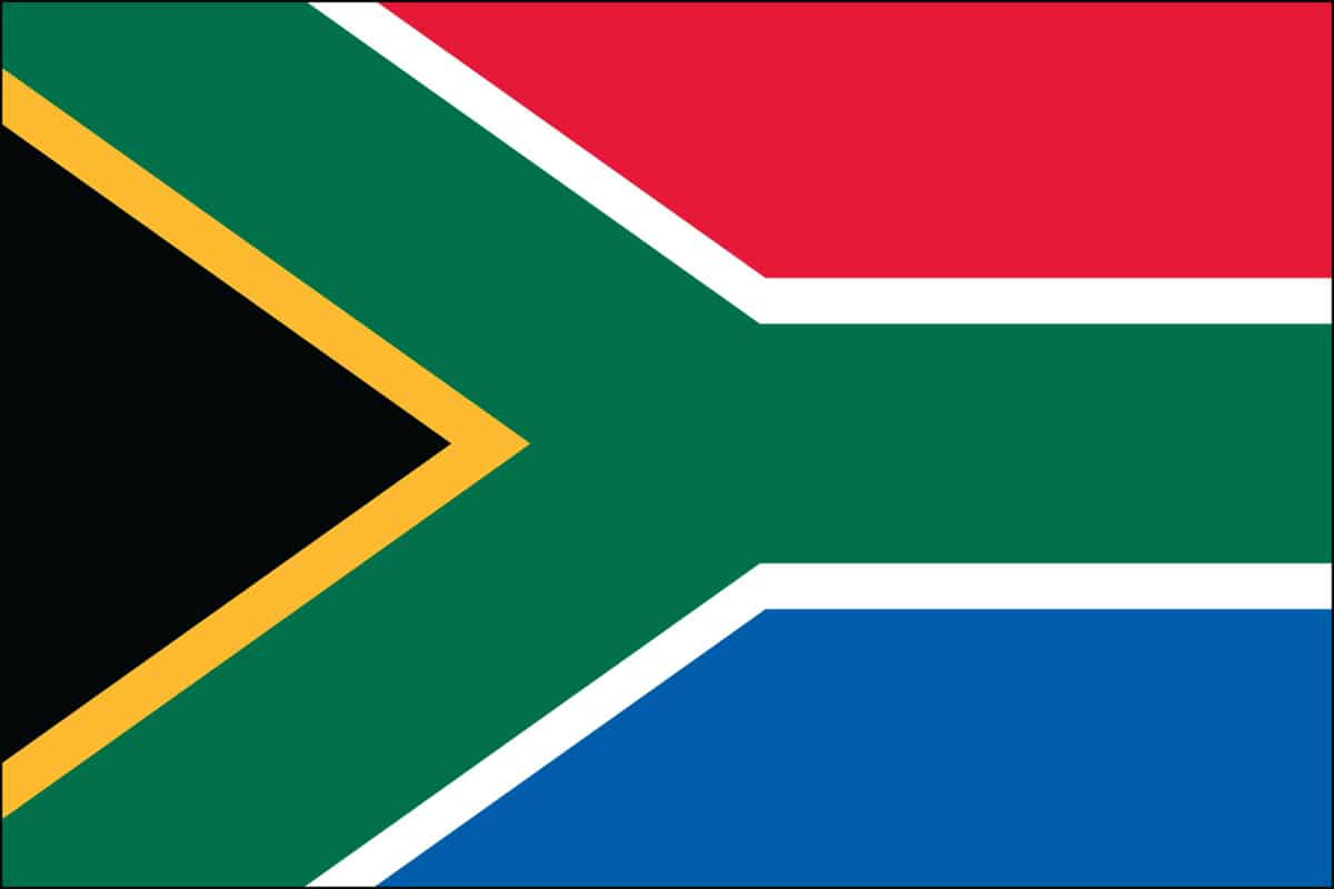 South Africa Flag For Sale | Buy South Africa Flag Online