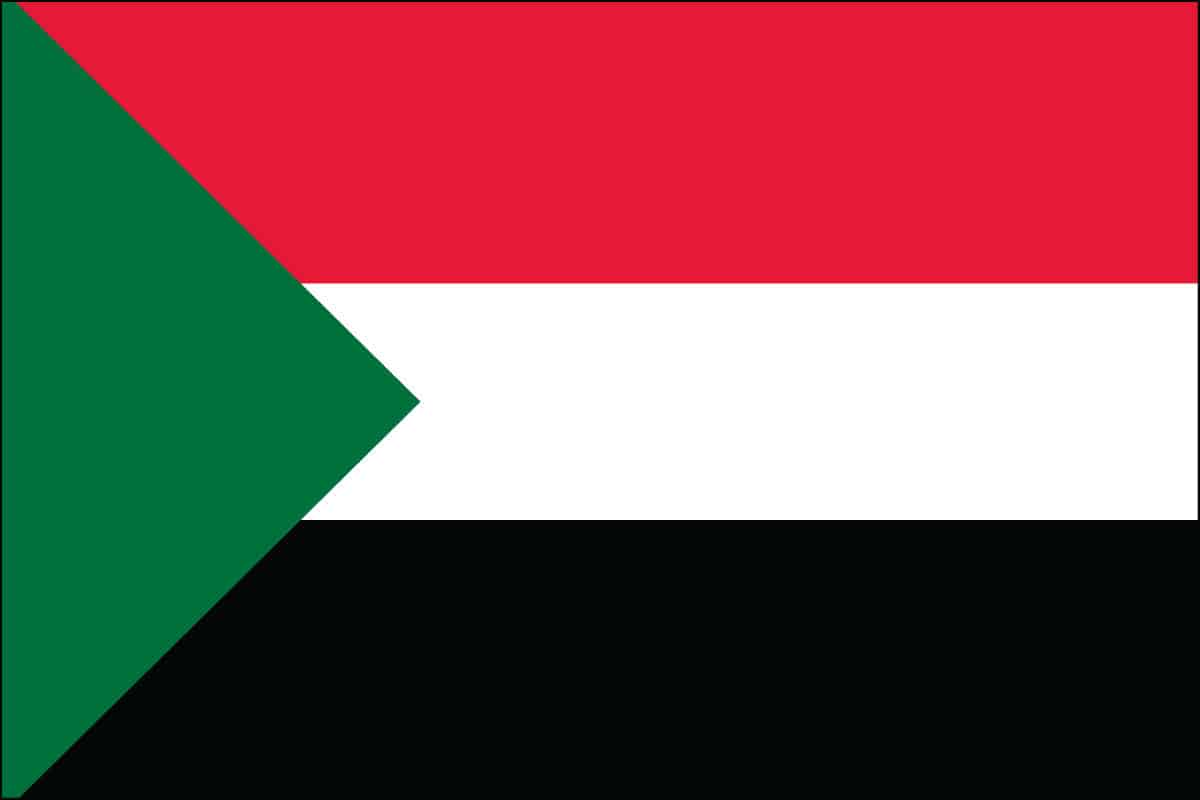 Sudan Flag For Sale | Buy Sudan Flag Online
