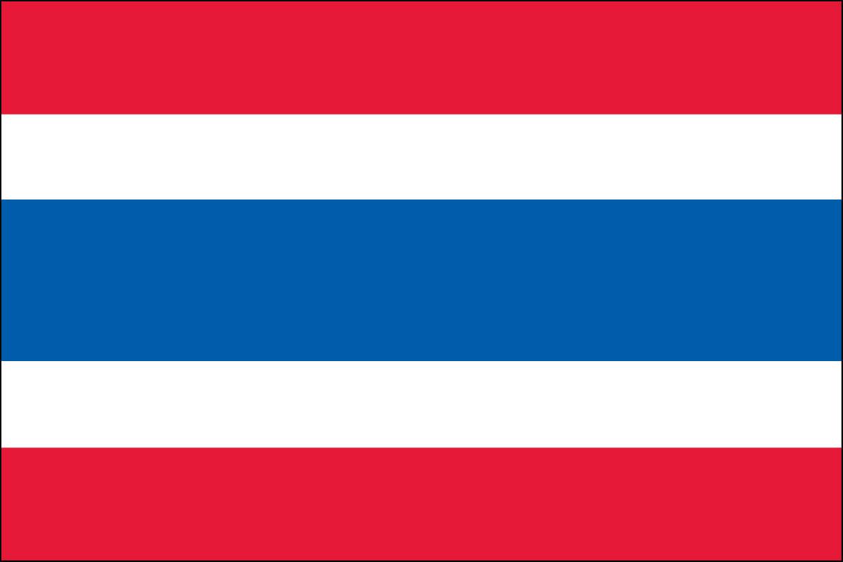 Hasil gambar untuk thailand flag